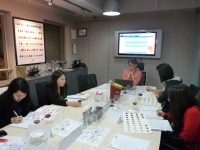 WSET class conducted in small group tuition at our Wanchai Centre